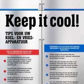Keep it cool!