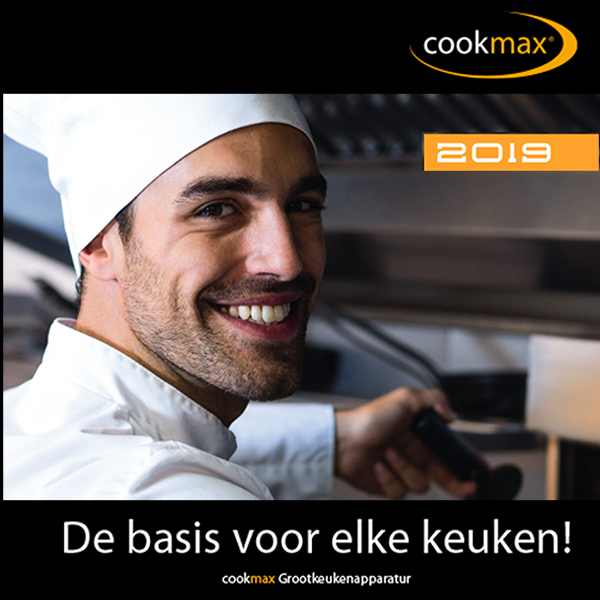 Cookmax catalogus 2019 is uit!